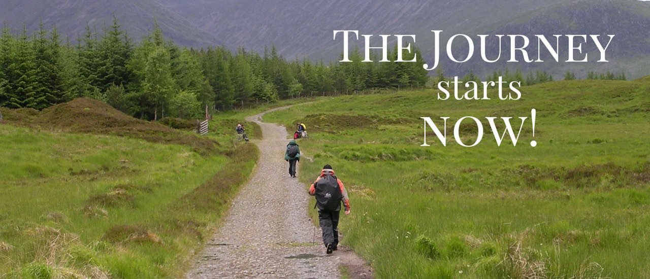 The Journey Starts Now slideshow banner image