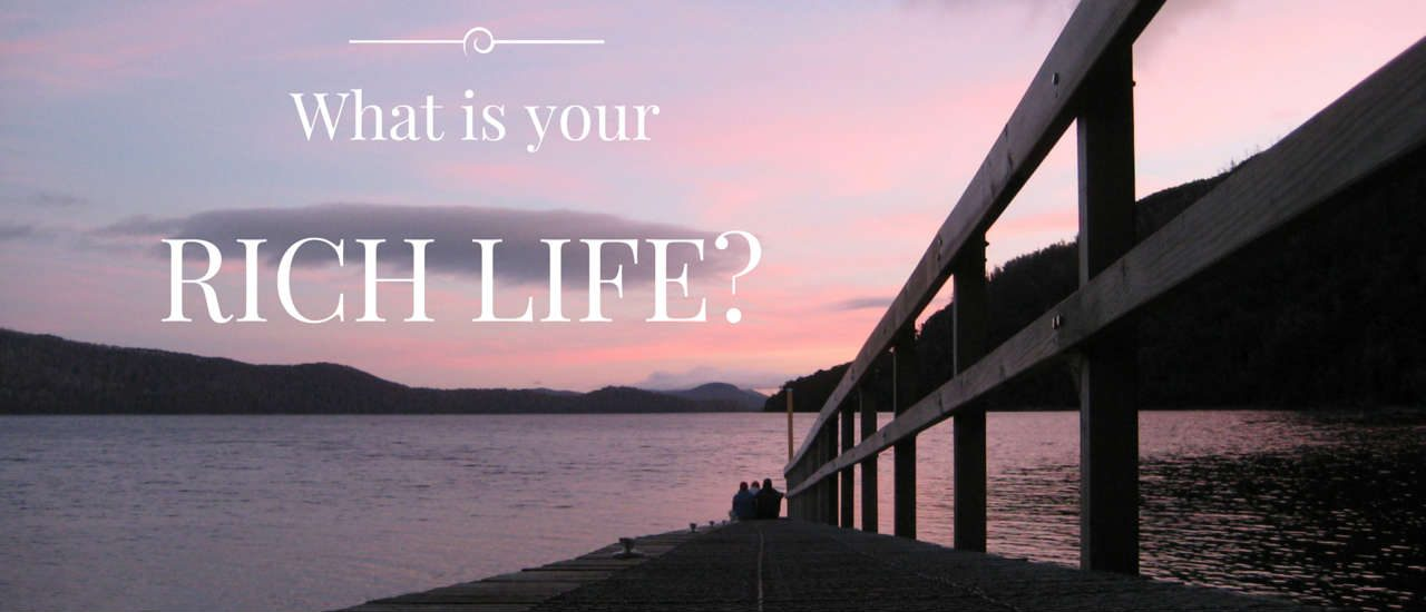 What Is Your Rich Life slideshow banner image
