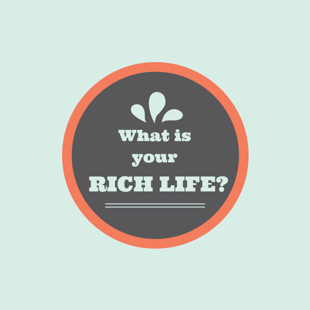 What is your rich life - image for The Rich Life website