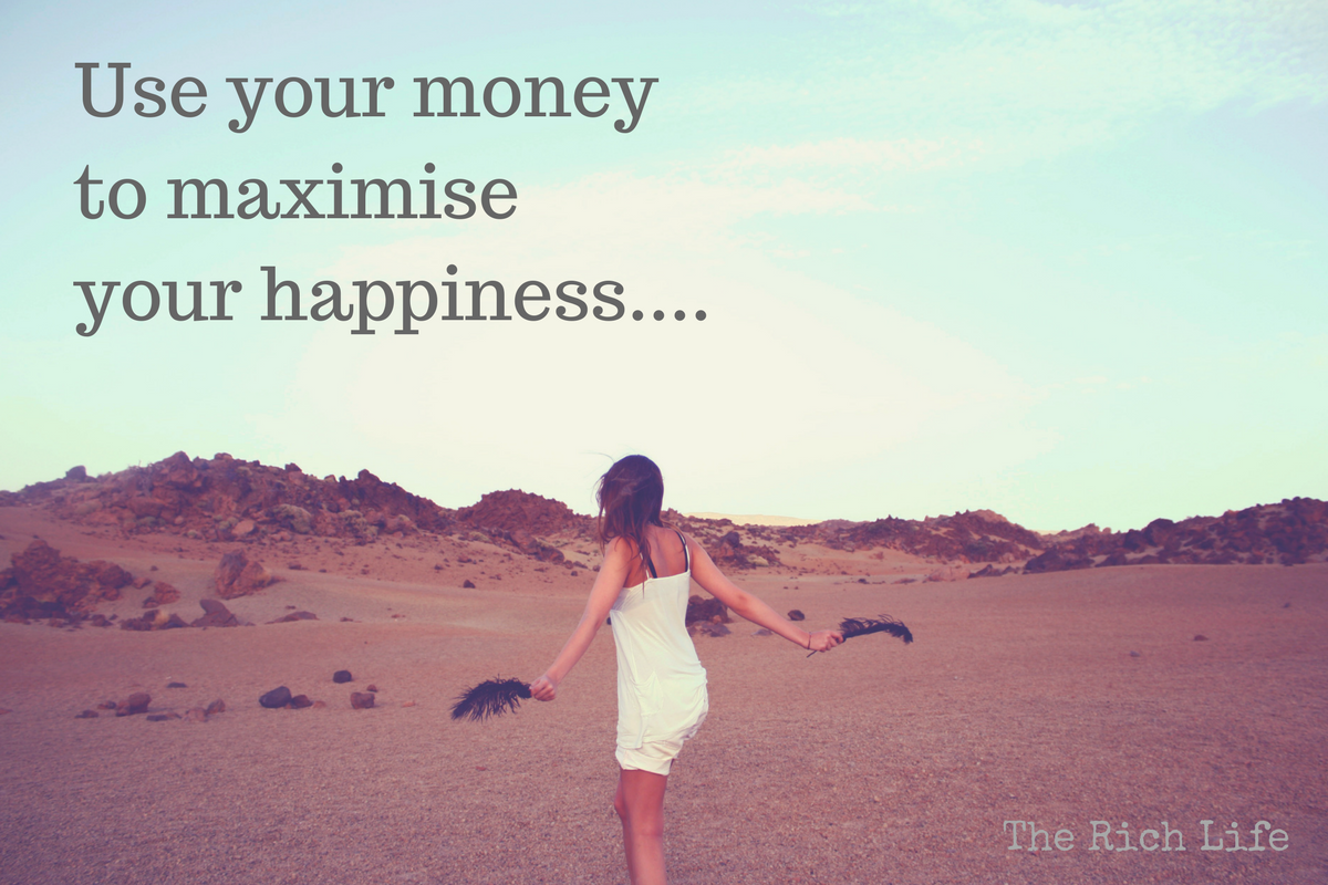 How to Use Your Money to Maximise Your Happiness